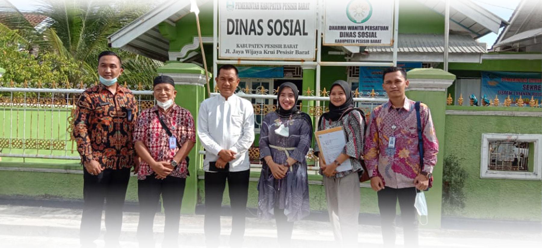 Kunjungan Kementerian Desa, Pembangunan Daerah Tertinggal, dan Transmigrasi ke Kabupaten Pesisir Barat