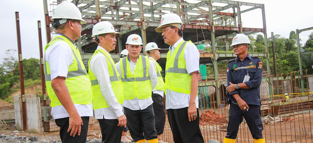 Monitoring Pelaksanaan Pembangunan Kompleks Perkantoran Pemerintah Kabupaten Pesisir Barat
